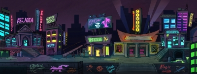 80's Downtown Arcade